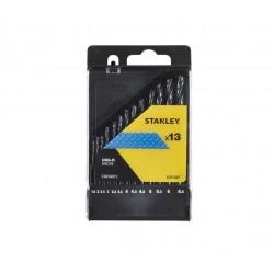 ΣΕΤ 13 ΤΡΥΠΑΝΙΑ ΜΕΤΑΛΛΟΥ HSS-R 1.5-6.5 mm STANLEY STA56015-QZ